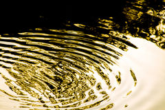 Abstract shadow on water Royalty Free Stock Images
