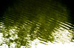 Abstract shadow on water Stock Photography
