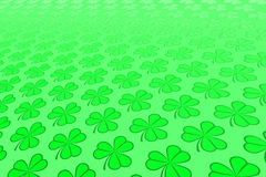 Abstract Shamrock Background Stock Photos