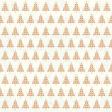 Abstract shape chrismtas tree pattern Royalty Free Stock Photography