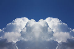 Abstract shape clouds Royalty Free Stock Image