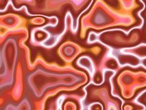 Cellular mood six. Abstract of shape and colour of cellular swirls and wavy motion vector illustration