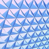 Abstract background of polygonal shape. Abstract shape 3D holographic background of triangles Stock Photo