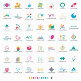Abstract Shape Logo Set - Vector Stock Photography
