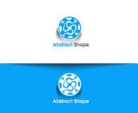 Abstract Shape Logo Royalty Free Stock Photo