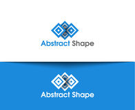 Abstract Shape Logo. Abstract vector logo and symbol Design Stock Photography
