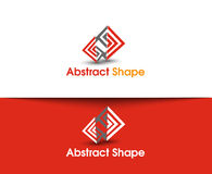Abstract Shape Logo. Abstract vector logo and symbol Design Royalty Free Stock Images