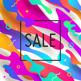 Abstract shape multicolored Royalty Free Stock Photos