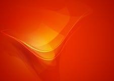 Abstract Shape Orange Background Royalty Free Stock Image