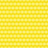 Abstract shape pattern design. Creative abstract shape pattern yellow background design Royalty Free Stock Photography