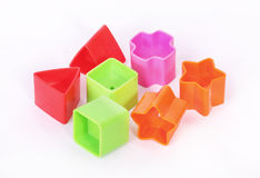 Abstract shape toys Stock Photo