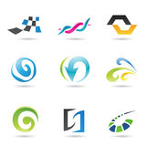 Abstract Shapes 1. Eps Vector illustration of geometrical abstract shapes Royalty Free Stock Photo