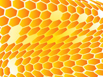 Abstract shapes. Illustration of abstract shapes, orange, yellow Royalty Free Stock Photography