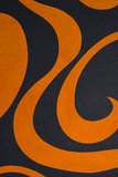 Abstract shapes background. High resolution abstract orange shapes background Royalty Free Stock Image