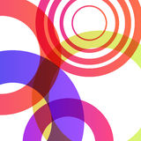 Abstract shapes background colorful bubbles. Eps 10 illustration stock illustration