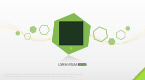 Abstract shapes  background. Abstract illustration of modern background design Royalty Free Stock Photos