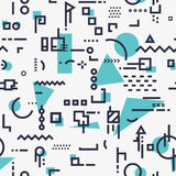 Abstract shapes background Stock Images