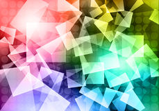 Abstract shapes background Royalty Free Stock Images