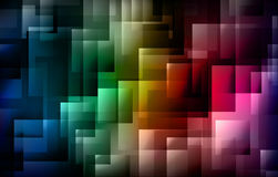Abstract shapes background Royalty Free Stock Photos