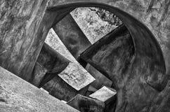 Abstract shapes at Jantar Mantar New Delhi India Royalty Free Stock Images