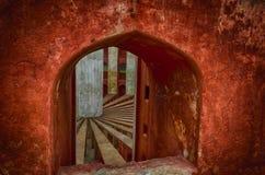Abstract shapes at Jantar Mantar New Delhi India Royalty Free Stock Photography