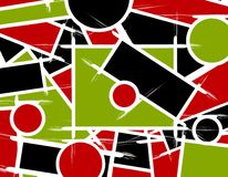 Abstract Shapes Lines Background Royalty Free Stock Photo