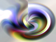 Abstract shapes in pastel hues Stock Photography