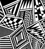 abstract shapes pattern Royalty Free Stock Photos