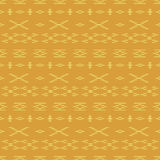 Abstract shapes seamless pattern. Abstract pattern of indonesian batik Stock Photography