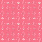 Abstract shapes seamless pattern. Abstract pattern of indonesian batik Royalty Free Stock Photography