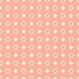 Abstract shapes seamless pattern Stock Image