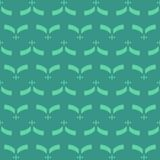 Abstract shapes seamless pattern. Abstract pattern of indonesian batik Stock Images