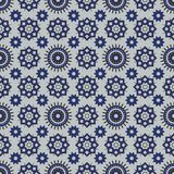 Abstract shapes seamless pattern. Abstract pattern of indonesian batik Royalty Free Stock Photos