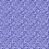 Abstract shapes seamless pattern. Abstract pattern of indonesian batik Stock Photo