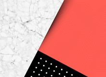 Abstract Shapes and Textures Background. Abstract shapes, textures and pattern background with room for text. Vector illustration Royalty Free Stock Photos