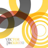 Abstract shapes vector background  colorful Royalty Free Stock Photo
