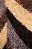 Abstract shapes wool carpet texture Royalty Free Stock Photos