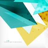 Abstract sharp angles background Royalty Free Stock Photo
