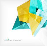 Abstract sharp angles background Stock Image
