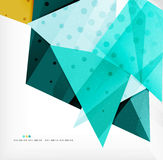 Abstract sharp angles background Stock Photography
