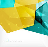 Abstract sharp angles background Stock Photo