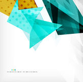 Abstract sharp angles background Stock Images