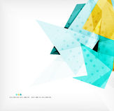 Abstract sharp angles background Royalty Free Stock Images