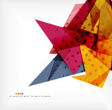 Abstract sharp angles background. Business brochure layout Royalty Free Stock Photo