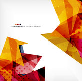 Abstract sharp angles background. Business brochure layout royalty free illustration