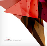 Abstract sharp angles background. Business brochure layout Royalty Free Stock Image