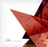 Abstract sharp angles background. Business brochure layout Royalty Free Stock Photos