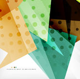 Abstract sharp angles background Royalty Free Stock Photography