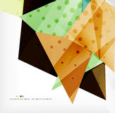 Abstract sharp angles background. Business brochure layout Stock Photo