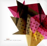 Abstract sharp angles background. Business brochure layout stock illustration